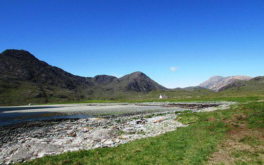Scotland, Scottish, Isle Of Skye, Camasunary, Mountain