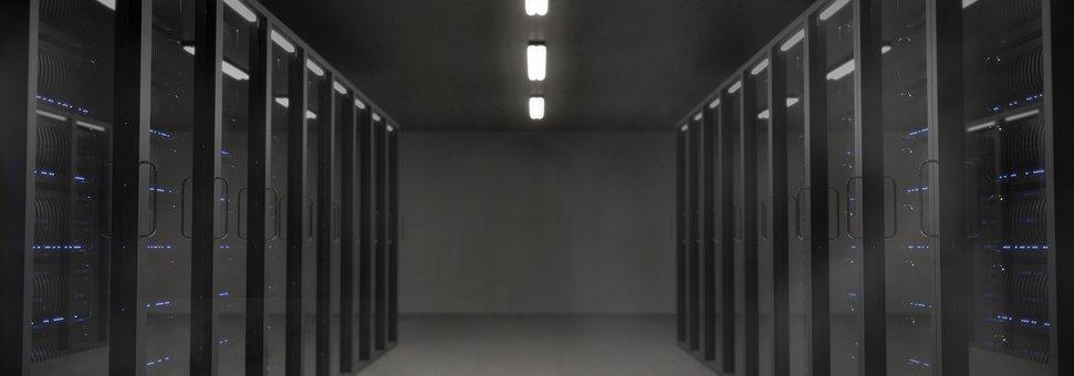Server, Space, The Server Room, Dark, Led, Light