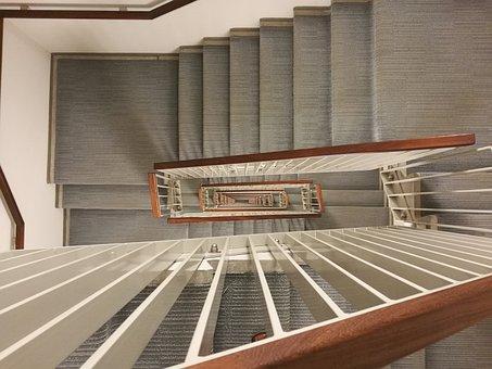 Stair, Spiral, Stairway, Staircase, Winding, 13th Floor