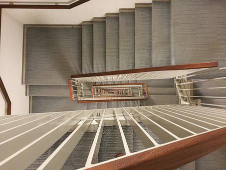 Stair, Spiral, Stairway, Staircase, Winding, 13th Floor