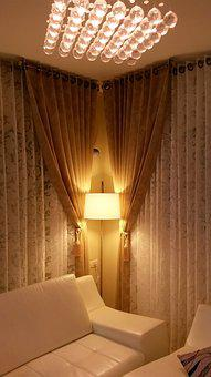 Curtain, Sides, Interior, Design, Apartment, Window