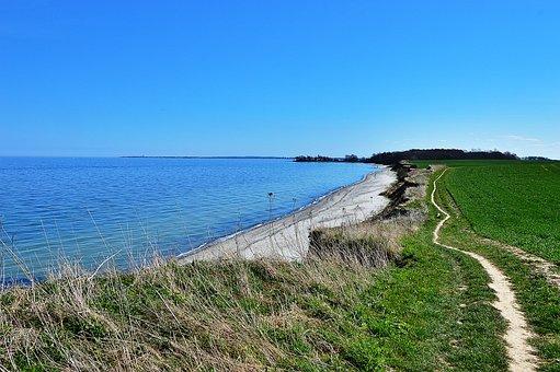 Cliff, Baltic Sea, Beach, Mecklenburg, Beaches