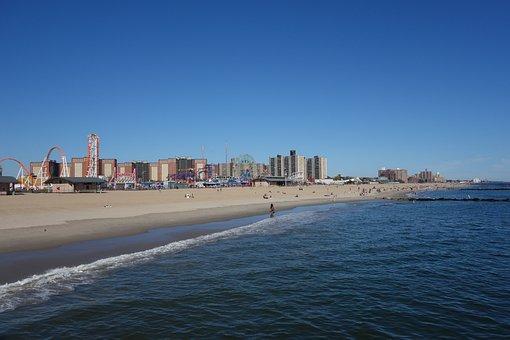 Coney Island, New York, Brooklyn, Beach