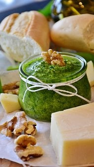 Pesto, Bear's Garlic, Bärlauch Pesto, Herbs, Homemade
