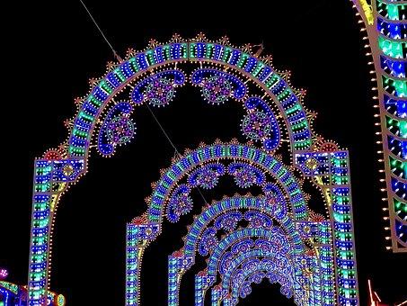 Christmas, Lights, Christmas Market, Christmas Lights
