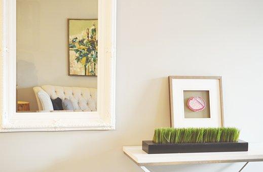 Mirror, Decor, Home, Picture Frame, Photo Frame, Design