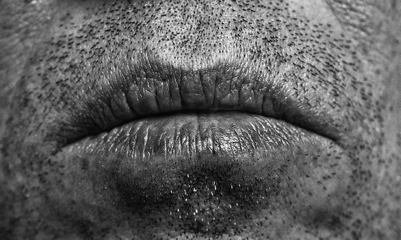 Mouth, Man, Ernst, Male, Sad, The Corner Of His Mouth