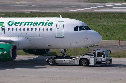 Aircraft, Germania, Airbus A319, Jet