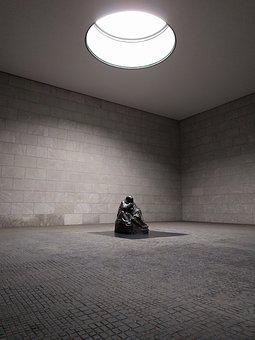 Berlin, Germany, Memorial, New Guardhouse, Gray Memory