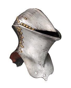 Helm, Knight Helmet, Antique, Metal, Armor, Knight