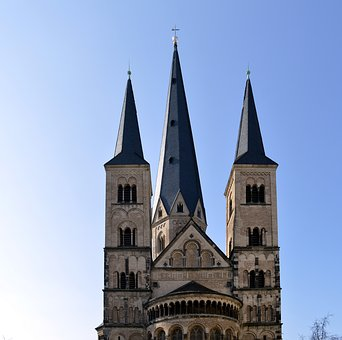 Münster, Bonn Minster, Bonn, Architecture, Building