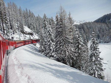 Rähtische Railway, Graubünden, Narrow Gauge