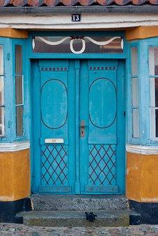 Door, Old, Retro, Viking, Denmark, Old Door, Wood