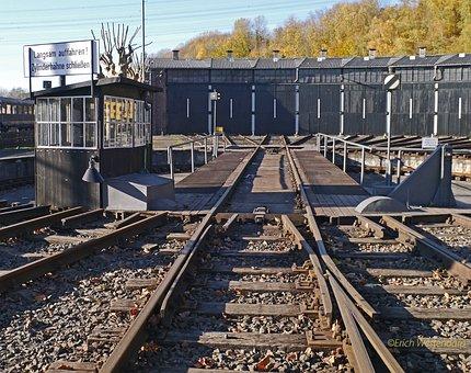Railway, Hub, Locomotive Shed, Track Star, Depot
