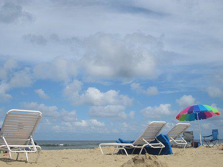 Beach, Clouds, Relax, Relaxation, Sand, Summer, Sky