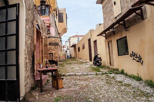 Road, Rhodhos City, Rhodhos Old Town