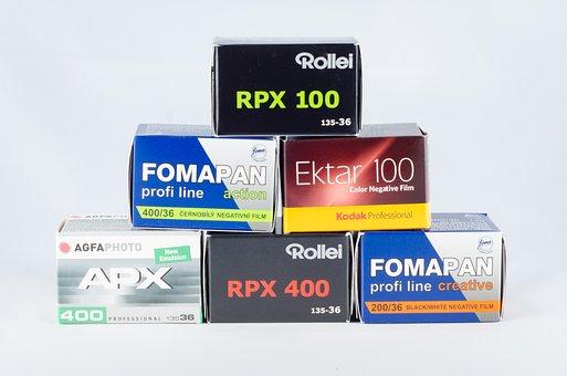 Analog, Film, Small Picture, Negative, Kodak, Rollei