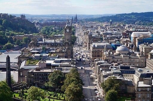 Edinburgh, Scotland, City, Architecture, Uk, Europe