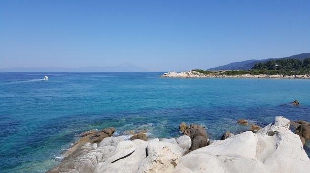 Sea, Aegean, Greece, Travel, Island, Mediterranean
