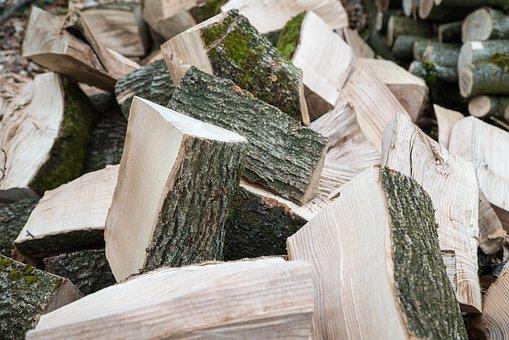 Wood, Split Wood, Firewood, Log, Holzstapel