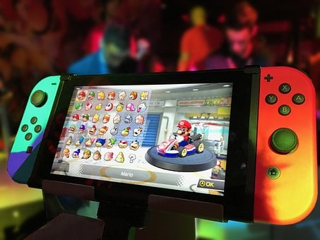 Nintendo Switch, Nintendo, Switch, Games, Games Console