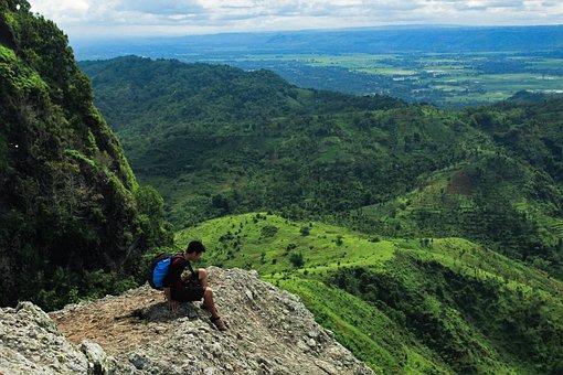 Adventure, Mountain, Cliff, Landscape, Travel, Tourism