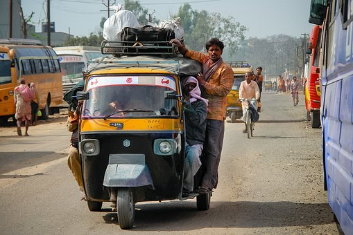 Rickshaw, Travel, Taxi, Transport, Transportation
