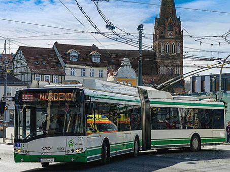 O - Bus, Bus, Trolley Bus, Driving Power