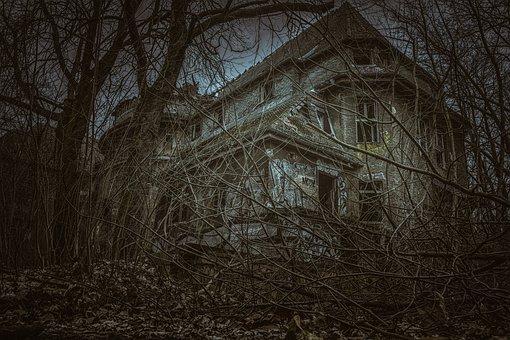 Lost Place, Houses, Abandoned, Uninhabited, Gloomy