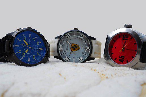 Wristwatch, Bracelet, Bracelets, Ferrari, Fossil, Watch