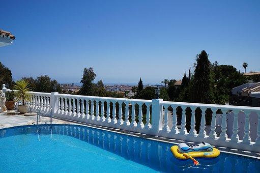 Summer, Malaga, Spain, Water