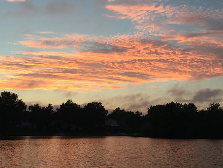 Eagle, Lake, Waterford, Michigan