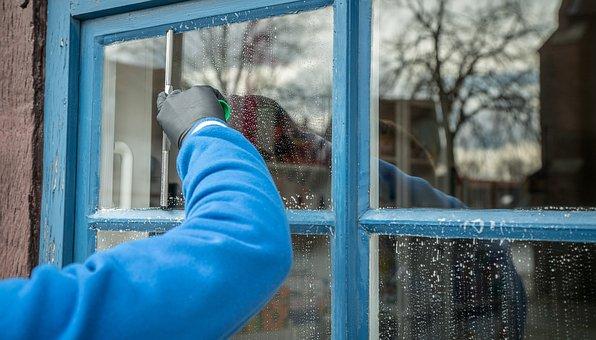 Frühjahrsputz, Service, Window Cleaning, Window Cleaner