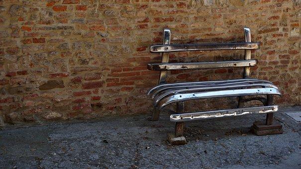 Bench, Bumper, Recycling