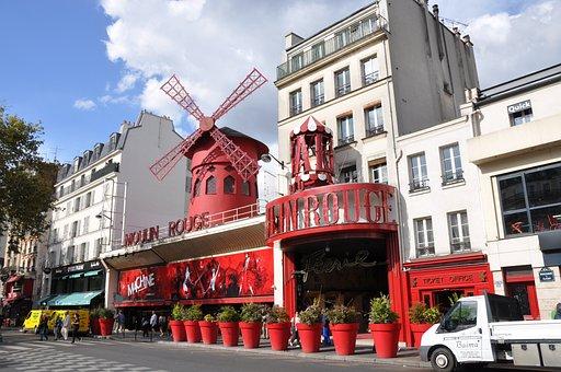 Paris, Mulin Rouge, Cabaret