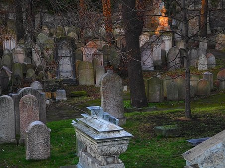 Cemetery, Jewish, Judaism, Old, Grave, Historical
