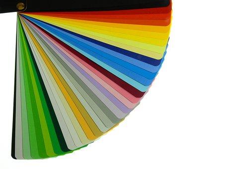 Color Fan, Color Card, Color, Pattern, Background