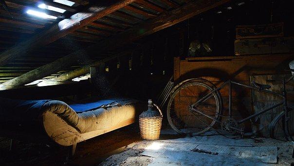 The Loft, Povala, Old, Mysterious, Dark, šerosvit
