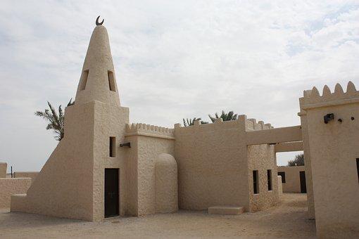 Qatar, Fort, Sand, Desert, Famous, Tower