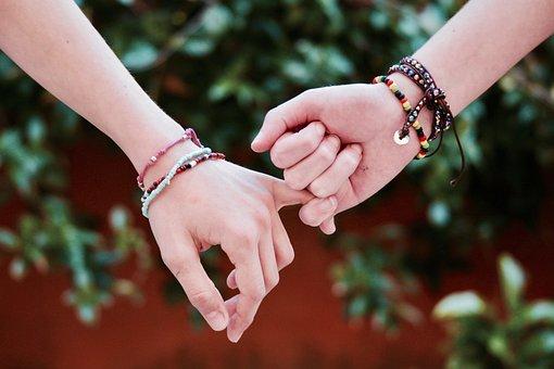 Friendship, Hands, Union, Life, Freedom, Love