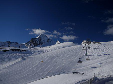 Dream Day, Skiing, Ski, Drive, Sunny, Frisch, Rolled