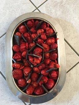 Strawberries, Chocolate, Goodness