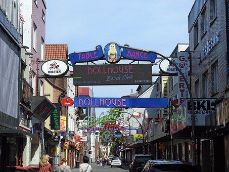 Sankt Pauli, Hamburg, Reeperbahn, Kiez, Hanseatic City