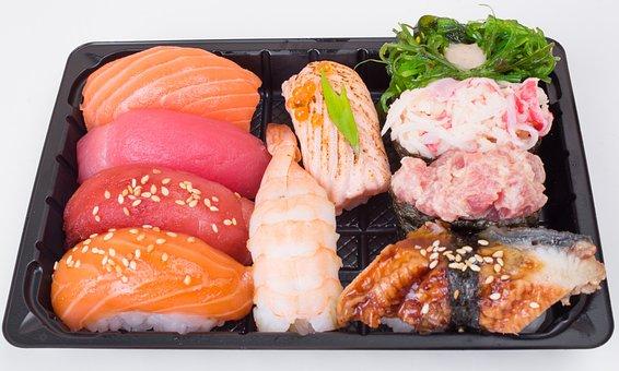 Gunpowder, Sushi, Salmon, Tuna, Acne, Hiyashi, Chuka