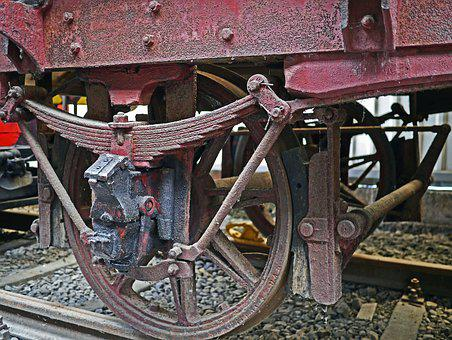 Railway Carriages, Museum, Axis, Spoke Wheels