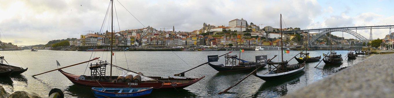 Panorama, Porto, Bridge, Cityscape, Travel, Douro