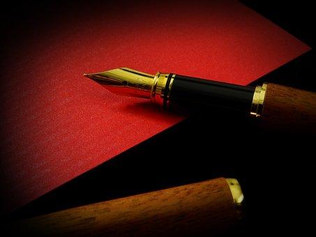 Leave, Communication, Filler, Fountain Pen, Pen