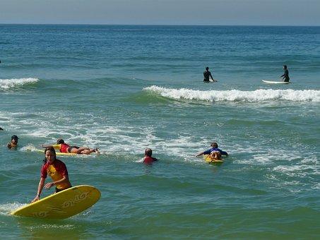 Surf, Beach, Plank, Rio De Janeiro, Barra Da Tijuca