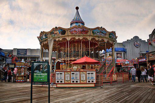Pier, San Francisco, Francisco, San, Landmark, Sea