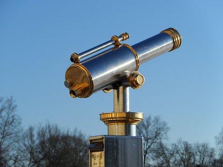 Telescope, Technical, Feinmechanik, Device, Apparatus